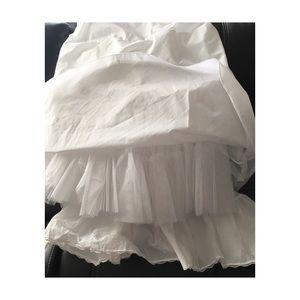 Dresses & Skirts - Bridal or formal tulle hoop skirt
